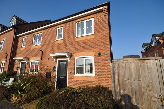 Thumbnail Town house to rent in Jeque Place, Stretton, Burton-On-Trent