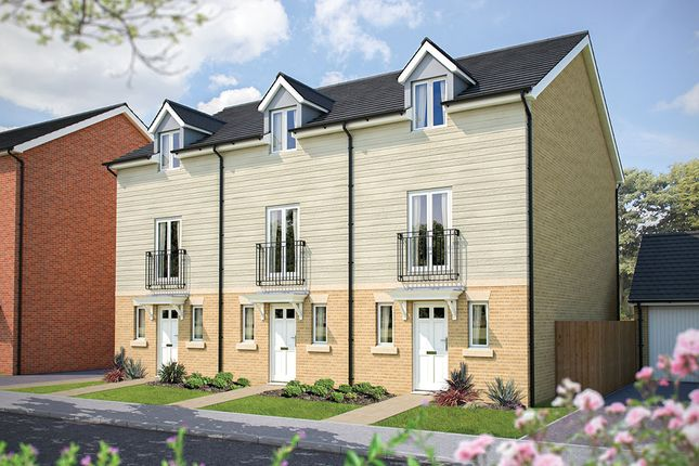 """Thumbnail Town house for sale in """"The Portman"""" at Poethlyn Drive, Costessey, Norwich"""