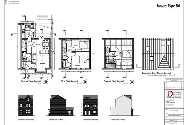 Thumbnail Semi-detached house for sale in Plot 1, 247 Westminster Road, Birmingham