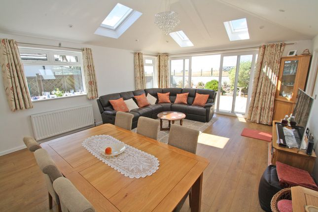 Thumbnail Semi-detached bungalow for sale in Eddystone Road, Down Thomas, Plymouth, Devon, 0Ar.