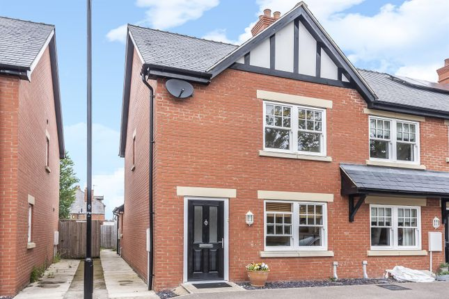 Thumbnail End terrace house for sale in Bennetts Mill Close, Woodhall Spa, Lincs