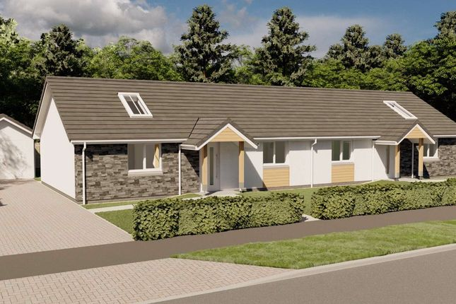 Thumbnail Semi-detached bungalow for sale in Pitcrocknie Village, Alyth, Perthshire