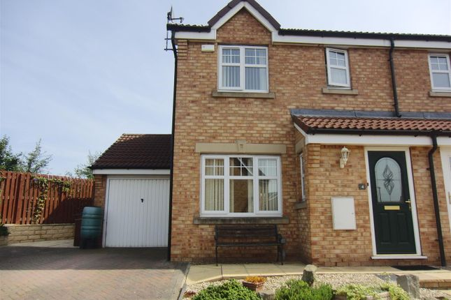 Thumbnail Semi-detached house to rent in Balmoral Drive, Methley, Leeds