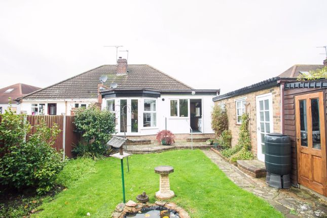 Thumbnail Semi-detached bungalow for sale in Crossby Close, Mountnessing, Brentwood