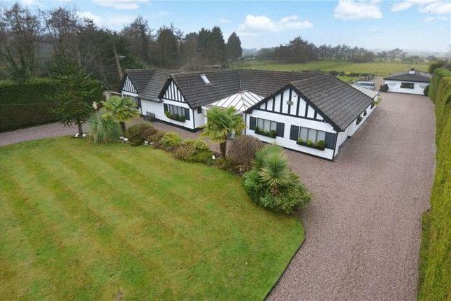 Thumbnail Detached bungalow for sale in Dunstan Lane, Burton, Cheshire