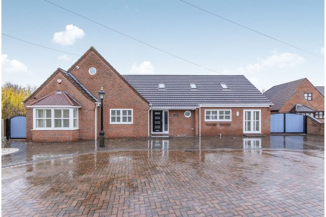 Thumbnail Detached bungalow for sale in Tranmoor Lane, Armthorpe, Doncaster