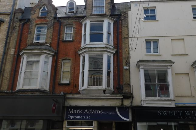 Thumbnail Maisonette to rent in High Street, Ilfracombe
