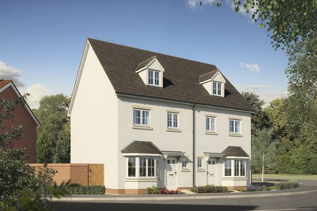 """Thumbnail Town house for sale in """"The Pendine"""" at Abergavenny Road, Gilwern, Abergavenny"""
