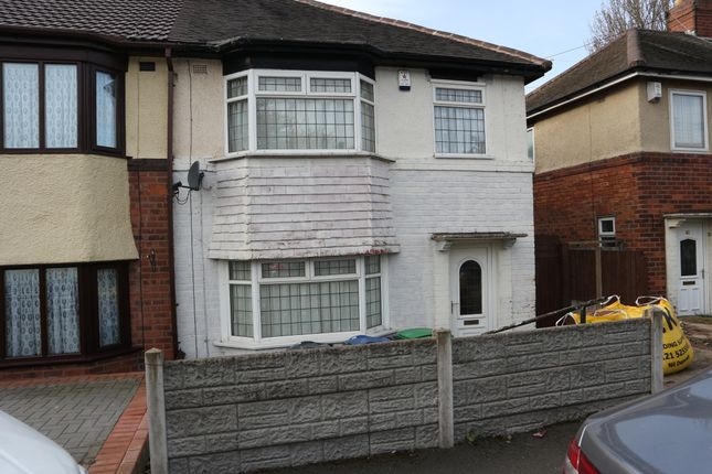 Thumbnail Semi-detached house to rent in Lakeside Road, West Bromwich