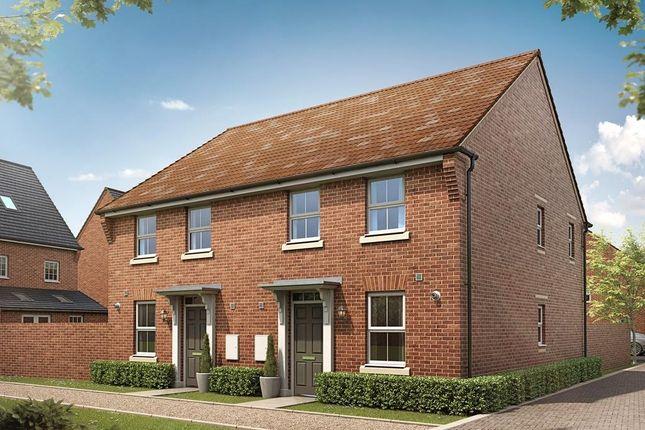 "Thumbnail Semi-detached house for sale in ""Ashurst"" at Taunton Road, Bishops Lydeard, Taunton"