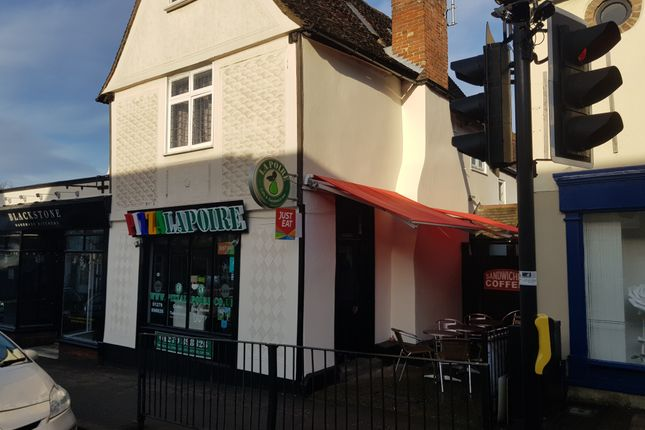 Thumbnail Restaurant/cafe for sale in Hockerill Street, Bishop's Stortford