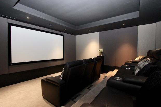 Cinema Room of Queenshurst Square, Kingston Upon Thames KT2