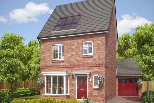 Thumbnail Detached house for sale in Reynolds Place, Worsley Road North, Walkden