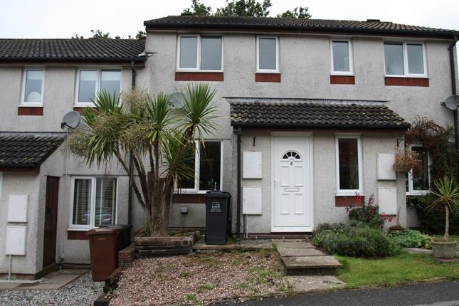 Thumbnail 2 bed terraced house to rent in Ford Close, Ivybridge