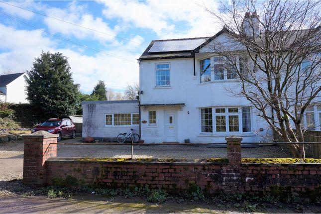 Thumbnail Semi-detached house for sale in Llanwrda, Llanwrda