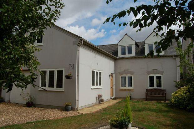 Thumbnail Detached house for sale in Cross Street, Moulton, Northampton