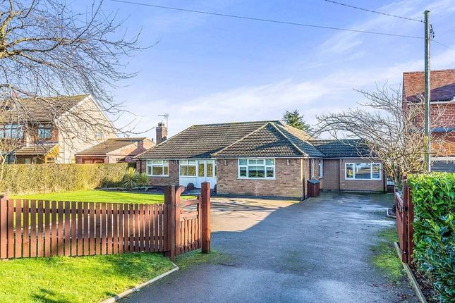 Thumbnail Bungalow for sale in Hinckley Road, Dadlington, Nuneaton