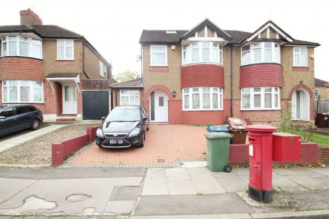 Thumbnail Semi-detached house to rent in High Worple, Harrow, Middlesex