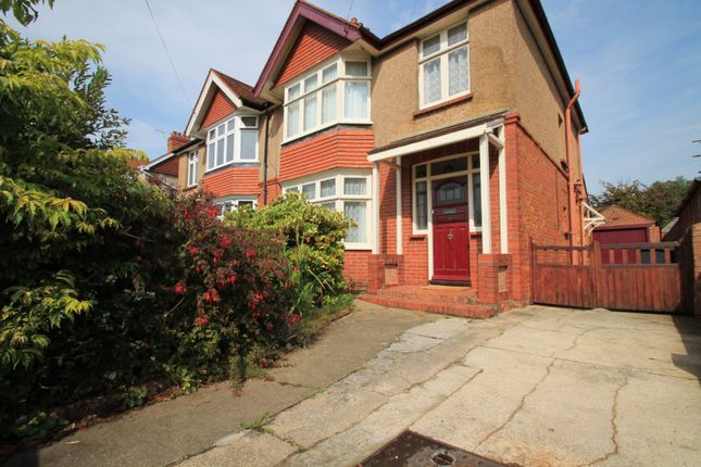 Thumbnail Semi-detached house to rent in Loxwood Avenue, Broadwater, Worthing