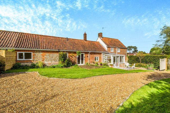 Thumbnail Semi-detached house for sale in The Green, Edgefield, Melton Constable