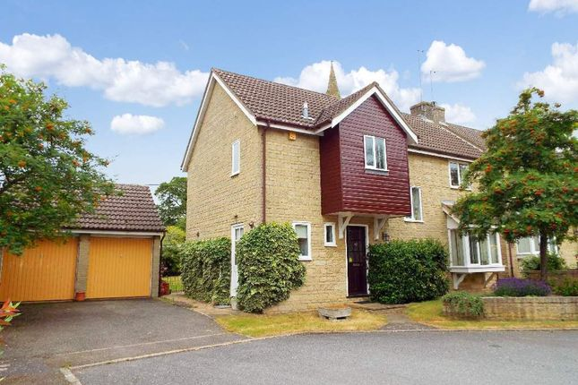 Thumbnail Detached house for sale in Church Farm Close, Bozeat, Northamptonshire