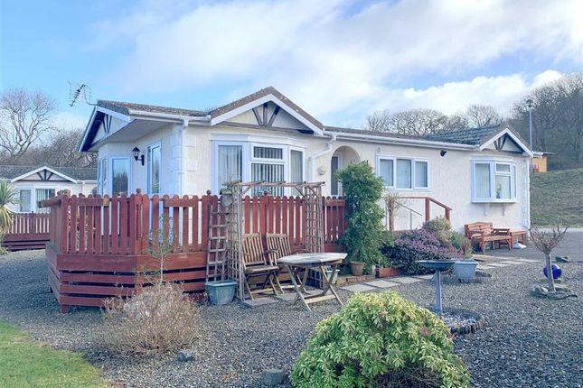 Thumbnail Mobile/park home for sale in Schooner Park, New Quay, Ceredigion