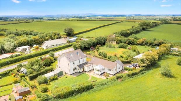 Thumbnail Detached house for sale in Mid Taphouse, Liskeard, Cornwall
