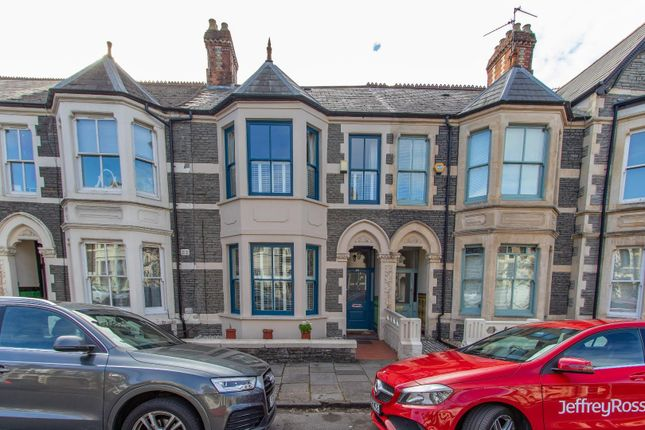 Thumbnail Terraced house for sale in Hamilton Street, Pontcanna, Cardiff