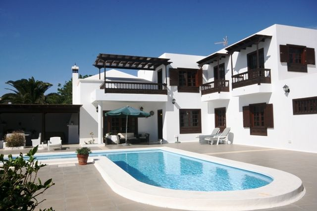 4 bed detached house for sale in Costa Teguise, Next To The Golf Course, Lanzarote