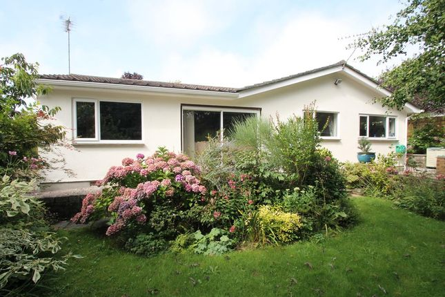 Thumbnail Detached bungalow for sale in Furzehatt Avenue, Plymstock, Plymouth