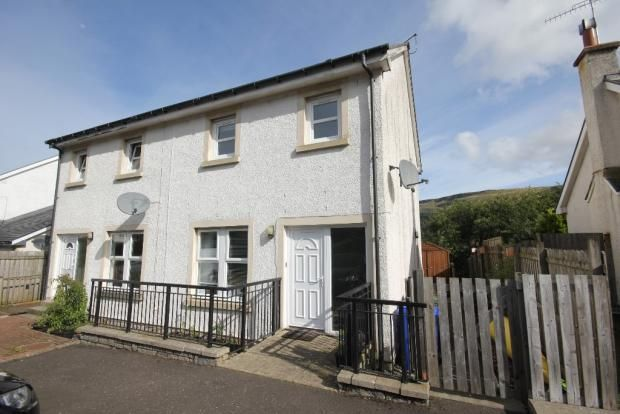 Thumbnail Semi-detached house for sale in Dunmore Gardens, Fintry, Glasgow