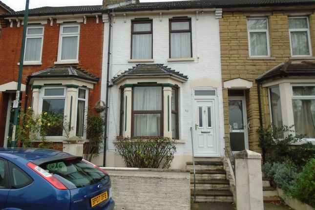 Thumbnail Terraced house to rent in Cliffe Road, Strood