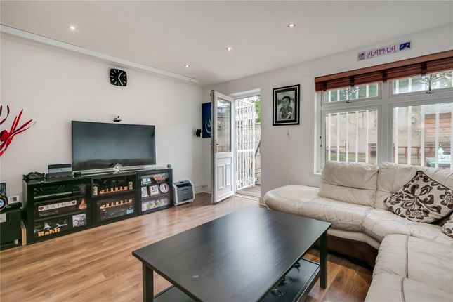 Thumbnail End terrace house for sale in Woodseer Street, London