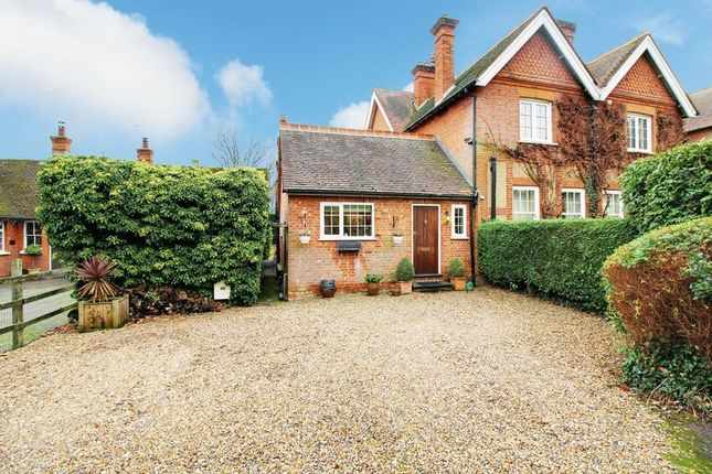 Thumbnail Semi-detached bungalow for sale in Ponsbourne Park, Newgate Street, Hertford