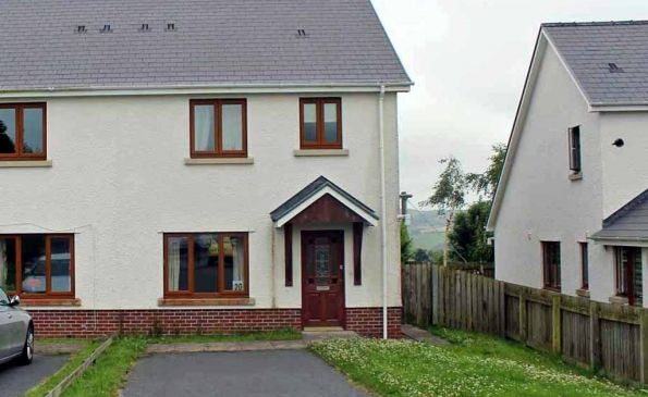 Thumbnail Semi-detached house to rent in 20 Cae'r Wylan, Aberystwyth