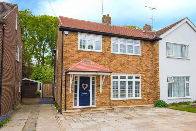 Thumbnail Semi-detached house for sale in Walton Gardens, Hutton, Brentwood, Essex