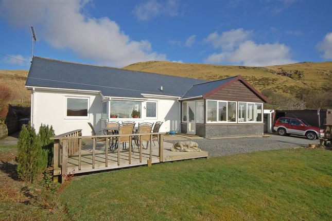 Thumbnail Detached bungalow for sale in Ponterwyd, Aberystwyth