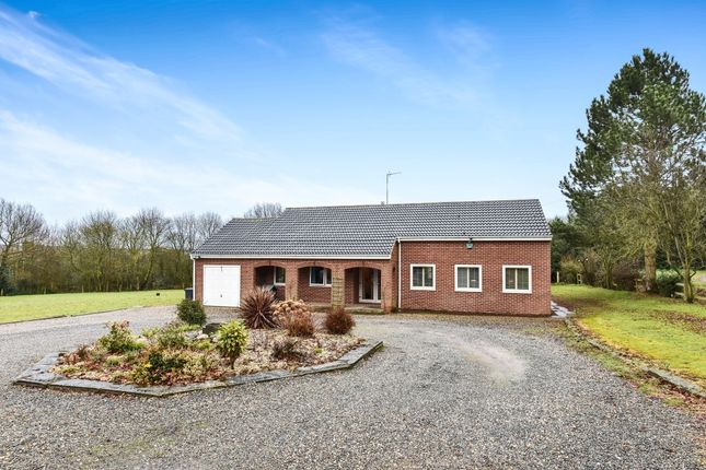 Thumbnail Detached bungalow for sale in Hall Lane, Donisthorpe, Swadlincote