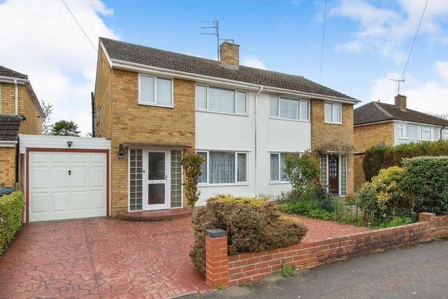 Thumbnail Semi-detached house for sale in Dashwood Avenue, Yarnton, Kidlington