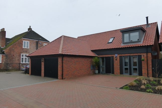 Thumbnail Detached house for sale in Newark Court, Hempsted, Gloucester