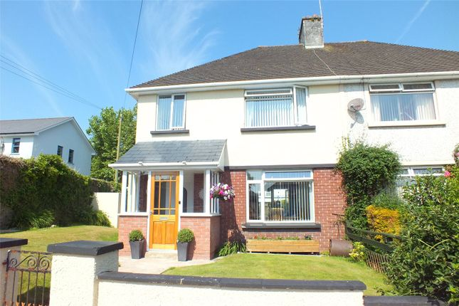 Thumbnail Semi-detached house for sale in Cromwell Street, Pembroke Dock, Pembrokeshire