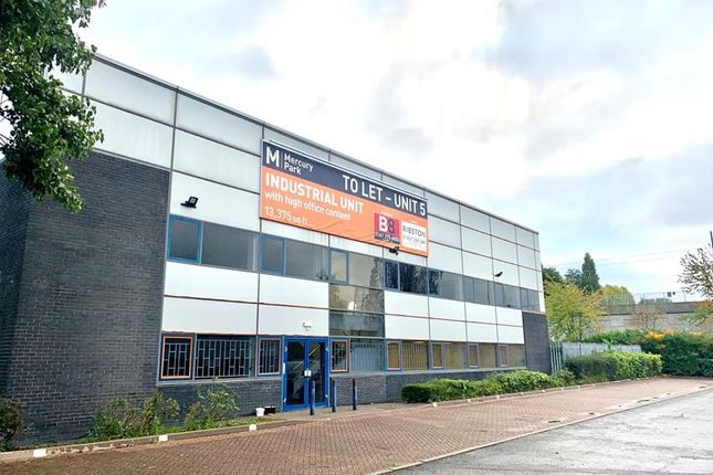 Thumbnail Light industrial to let in Unit 5, Mercury Park, Trafford Park, Manchester, Greater Manchester