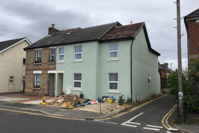 Thumbnail Flat for sale in Victoria Road, Parkstone, Poole