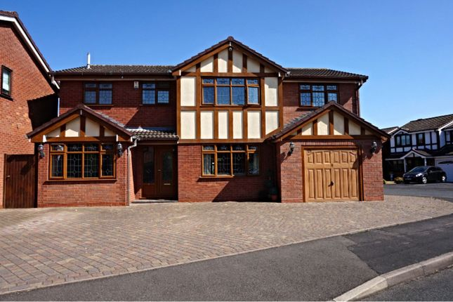 Thumbnail Detached house for sale in Seaforth Grove, Willenhall
