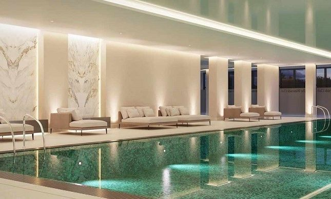 Swimming Pool & Spa Area