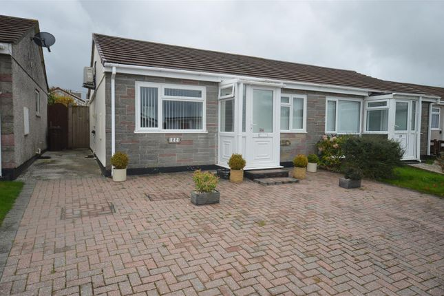 Thumbnail Semi-detached bungalow for sale in Boskenna Road, Four Lanes, Redruth