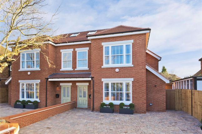 Thumbnail Semi-detached house for sale in Seymour Road, East Molesey, Surrey