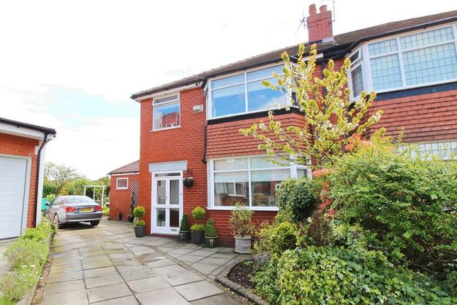 Thumbnail Semi-detached house for sale in Mellor Drive, Walkden, Manchester