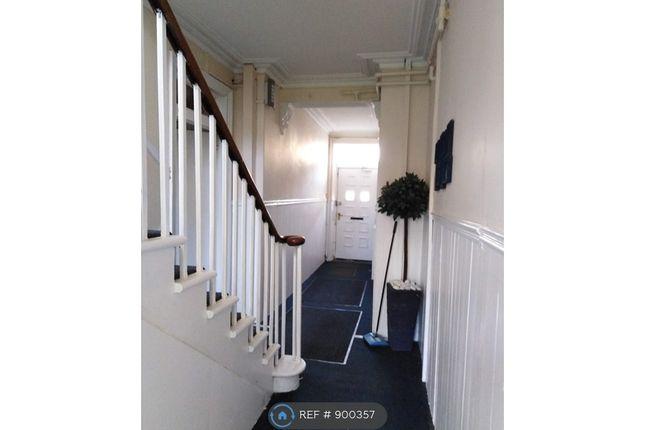 Bright Shared Hallway