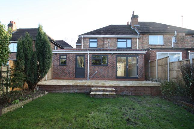 Rear View of Sandwell Road, Birmingham B21